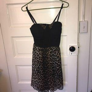 Gypsy Warrior leopard print dress